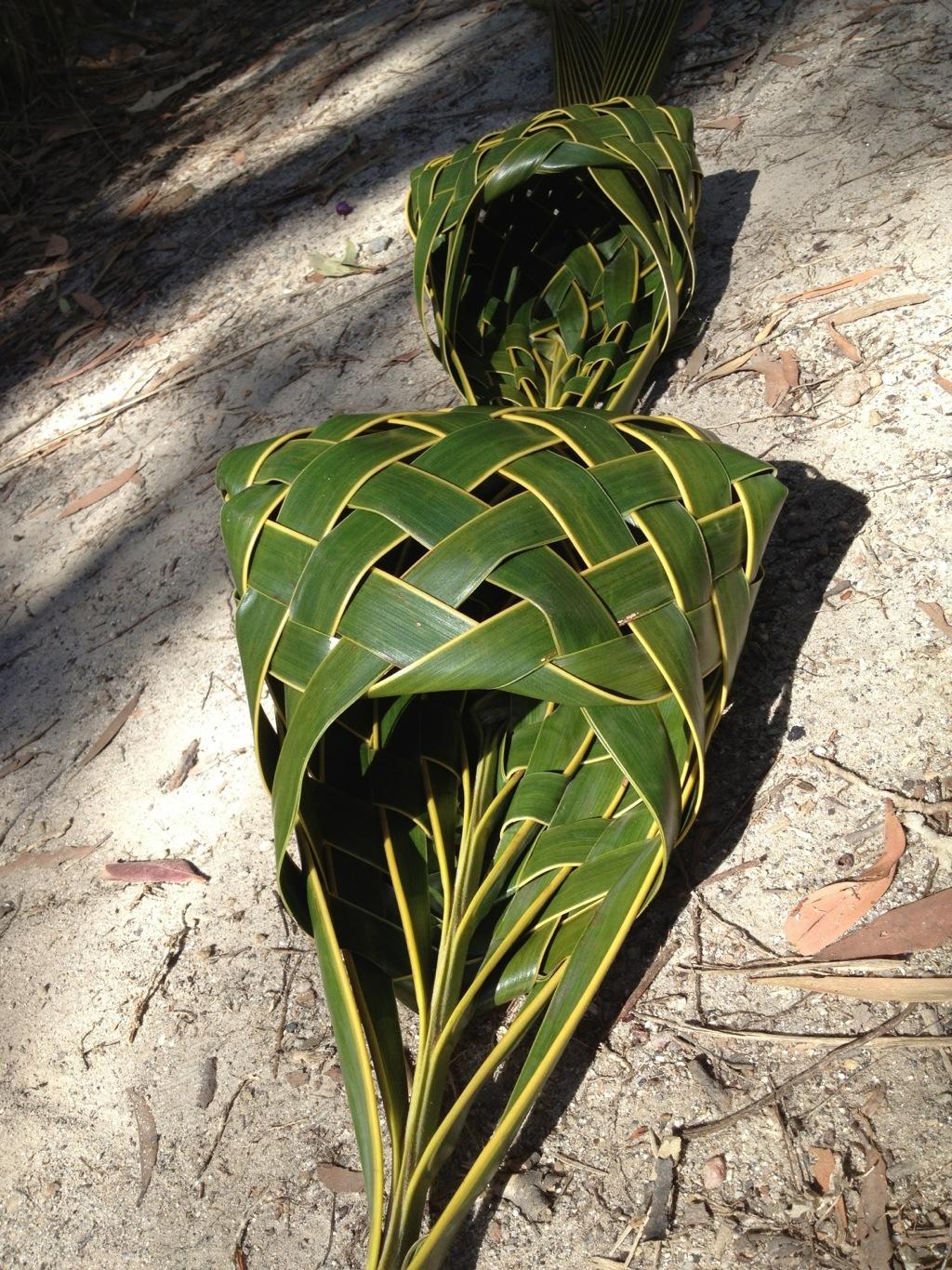 Coconut Palm Weaving Rosalindentree