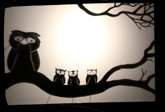wonderful shadow puppetry