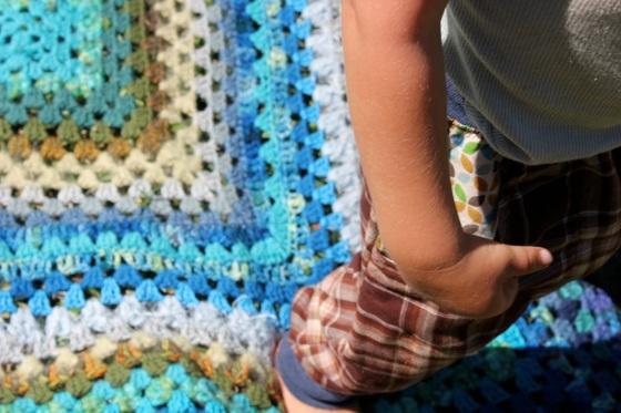 cedar baby blanket